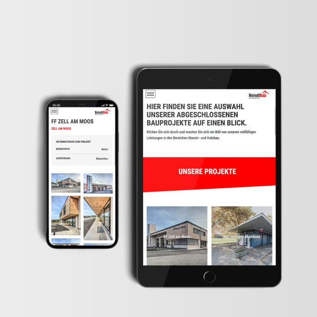Reindl Bau Website Projects