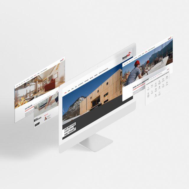 Reindl Bau Website Subpages