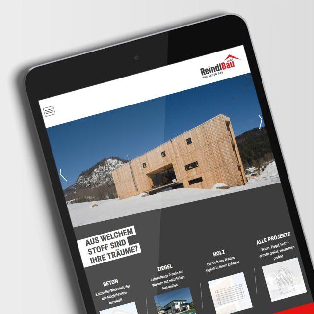Reindl Bau Webdesign