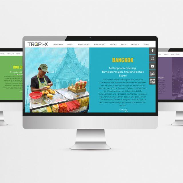 Website Tropi-X