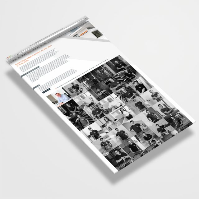 Brandlmayr – Haustechnik und Elektro   Website Ansicht Tab