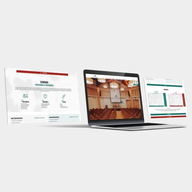 Parkhotel Brunauer Website Ansicht Laptop